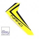 Finne gelb mit Dekorbogen Blade Nano CP X