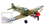 Ultra Micro P-40 Warhawk 401mm AS3X