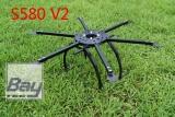 Hex Copter Bausatz ohne Elektronik Komponenten 580mm