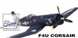 Dynam F4U Corsair blau im PNP Set ohne Akku/RC 1270mm