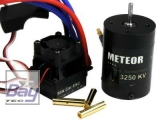 METEOR Brushless Combo Car 50A ESC 13T Motor KV3250