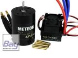 METEOR Brushless Combo Car 60A ESC 9T Motor KV4350