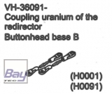 VH-36091 Coupling uranium of the redirector