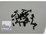 E-Razor 250 Schraubensatz 2 für Carbon