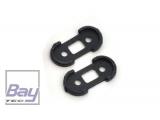 Xtreme Production Ersatzteil Rotorblattschutz für Heckrotrorhalter (2) B130X14-P