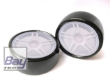 Drift Räder 1:10 Weiß 63mmx26mm 2 Stk 12mm Innensechskant