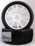 Buggy Räder 1:8 weiß 112mmx43mm Aufnahme 17mm Innensechskannt ,180049