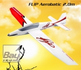 Topmodel CZ FLIP Aerobatic 2,0m ARF Segler & Elektro