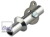 F-Schleppkupplung  Aluminium  Ø8,0mm