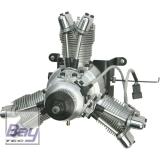 SAITO FG-33R3 BENZIN MOTOR 3-ZYLINDER STERNMOTOR MIT ELEKTRONISCHER ZÜNDUNG