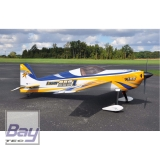 AJ AIRCRAFT LASER 230Z 105 2667mm ARF REFLEX DESIGN (BLAU/GELB/WEISS)
