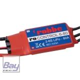 RO-CONTROL 6-80 2-6S -80(100A) BRUSHLESS REGLER 5V/5A SCHALT-BEC