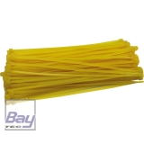 ROBBE Kabelbinder 3x150 mm 100 Stück gelb