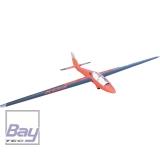 TOMAHAWK SPORT MDM-1 Fox 3,5 m Segler ARF Voll GFK lackiert Kunstflug Segelflugzeug