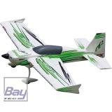 PREMIER AIRCRAFT QQ EXTRA 300 V2 GRÜN/SCHWARZ SUPER PNP MIT AURA 8 3D EPO MODELL MIT 3-ACHS GYRO