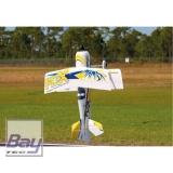 PREMIER AIRCRAFT MAMBA 60 E+ 1353mm GELB/BLAU PNP MIT AURA 8 DOPPELDECKER