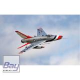 PREMIER AIRCRAFT F-100D SILBER E-IMPELLER JET - 1162mm