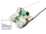 Spektrum AR6410L 6-Kanal Ultra-Micro DSMX Empfänger/Regler/Long-Throw-Servo-Einh
