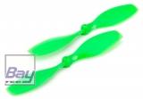 Blade Nano QX: Rotorblätter Grün gegen den Uhrzeigersinn drehend (2)