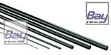 Carbon Vierkant Rohr 3,00 mm x 3,00mm x 1000mm 2mm Innen