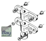Nylon Fahrwerks-Befestigungs-Set (2 Stk) - 4mm