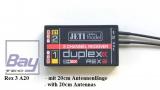 JETI DUPLEX 2.4EX Empfänger REX 3 A20