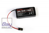 Graupner Senderakku LiPo 1S1P / 1500 TX 3,7V für MZ-12