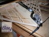 80er Jahre Delta Bausatz 110 cm - Verbrennermodell - CNC Holzbausatz