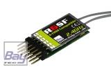 Bay-Tec R6SF 6 Kanal S-FHSS Kompatibler 2,4 GHz Empfänger