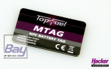 TopFuel MTAG Battery Sticker 4 Stück