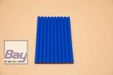 10 Heißklebe-Sticks 11 x 200 mm - blau