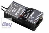 FUTABA R7108SB 2,4 GHz FASSTest / FASST Empfänger 8/18-Kanal FASSTest / FASST 2.4 GHz Telemetrie-Empfänger mit S.BUS2