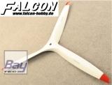 Falcon Carbon Benzin 25x12 weiß