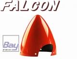 Falcon Carbon Spinner Benzin 4,5 3-Blatt rot