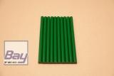 10 Heißklebe-Sticks 11 x 200 mm - grün