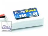 LiPo Akku FliteZone 280mAh - 7,4V - 2S