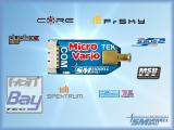 SM-Modellbau MicroVario - Echt winzig! Und trotzdem ist das MicroVario ein vollwertiges TEK Vario mit hochwertigen Drucksensoren und einem dreiachsigen Beschleunigungssensor. Volle Unterstützung für die Telemetrie von Jeti Duplex, Multiplex M-Link, Graupn