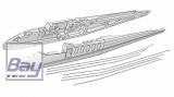 Multplex Rumpfhälften+Bowdenzüge TwinStar II/BL