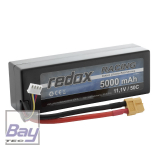 Redox Hardcase Car Lipo Akku 5000mAh 2S - 7,4V - 50C - XT60
