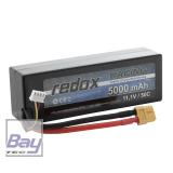 Redox Hardcase Car Lipo Akku 5000mAh 3S - 11,1V - 50C - XT60