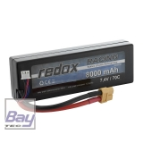 Redox Hardcase Car Lipo Akku 8000mAh 2S - 7,4V - 70C - XT60