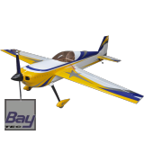 AJ AIRCRAFT LASER 230Z 123 3124mm ARF REFLEX DESIGN (BLAU/GELB/WEISS)
