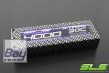 SLS XTRON 4000mAh 2S1P 7,4V 30C/60C  Hardcase Steckkontakte