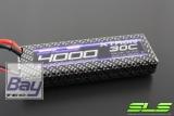 SLS XTRON 4000mAh 2S1P 7,4V 30C/60C  Hardcase special buttom