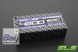 SLS XTRON 4200mAh 2S2P 7,4V 50C/100C  Hardcase Steckkontakte (Shorty)
