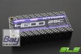 SLS XTRON 4600mAh 1S1P 3,7V 25C/50C  Hardcase Steckkontakte