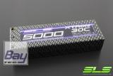 SLS XTRON 5000mAh 2S1P 7,4V 30C/60C  Hardcase Steckkontakte