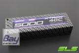 SLS XTRON 5000mAh 2S1P 7,4V 40C/80C  Hardcase Steckkontakte