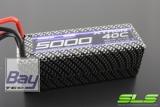 SLS XTRON 5000mAh 4S1P 14,8V 40C/80C  Hardcase