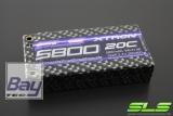 SLS XTRON 5800mAh 1S2P 3,7V 20C/40C  Hardcase Steckkontakte
